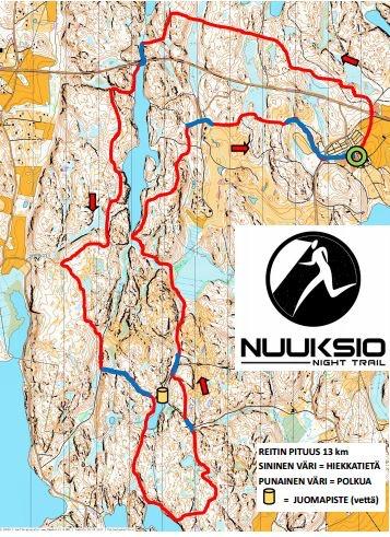Nuuksio Night Trail 2 10 2020